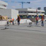 inşaat zemin beton uygulaması