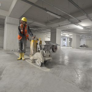 zemin beton çalışması